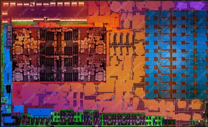 AMD Ryzen Mobile Die Shot