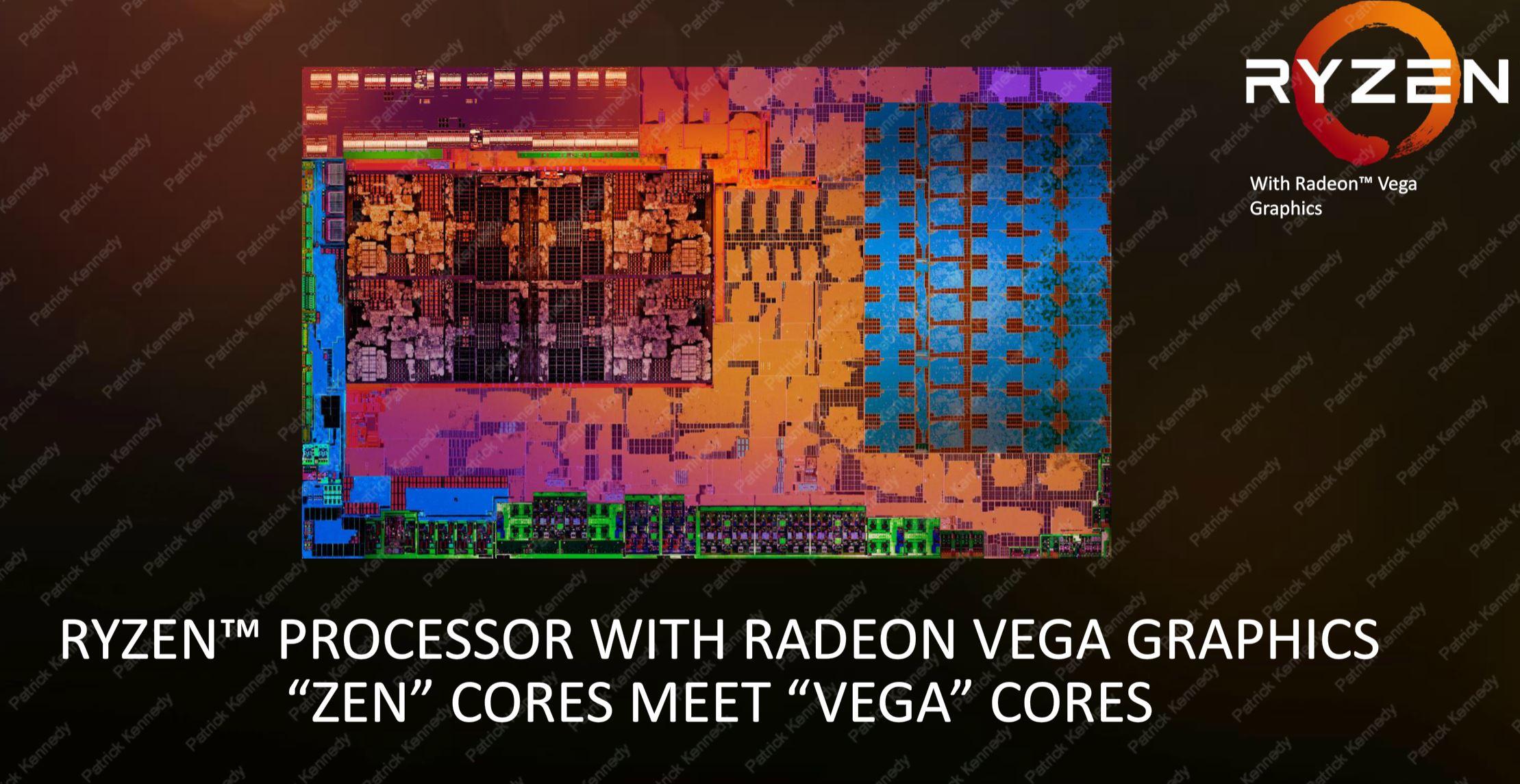 AMD Ryzen Mobile Zen Plus Vega Cores
