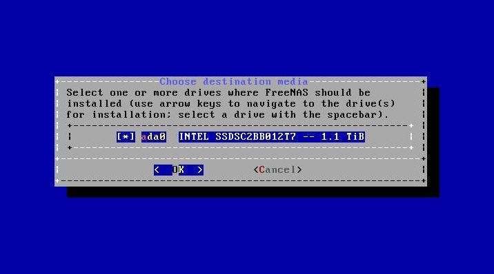 Gigabyte MA10 ST0 FreeNAS 11 U4 Install