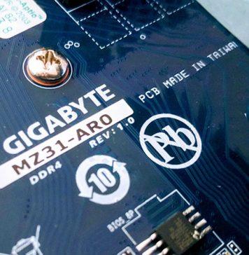 Gigabyte MZ31 AR0 AMD EPYC
