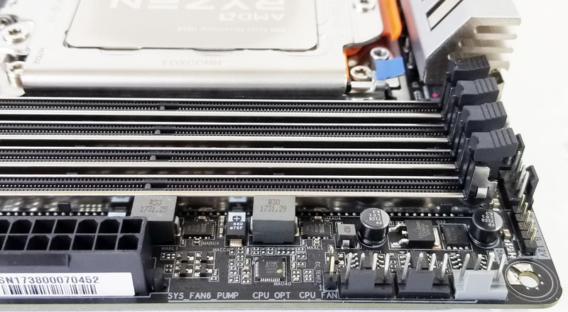 Gigabyte X399 Designare EX Fan Headers