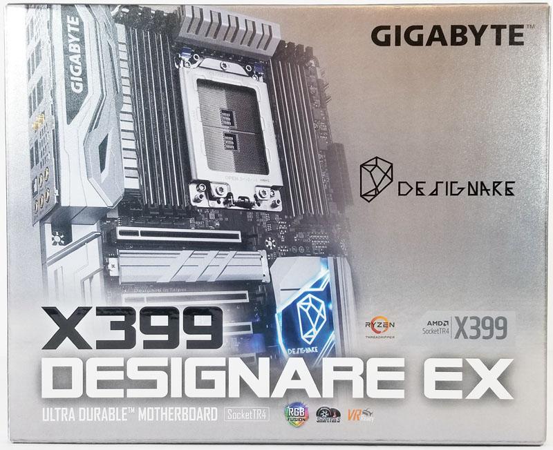 Gigabyte X399 Designare EX Retail Box Front
