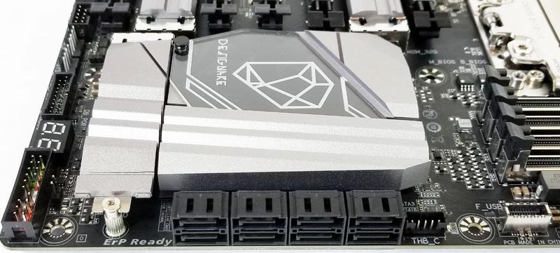 Gigabyte X399 Designare EX Storage Ports