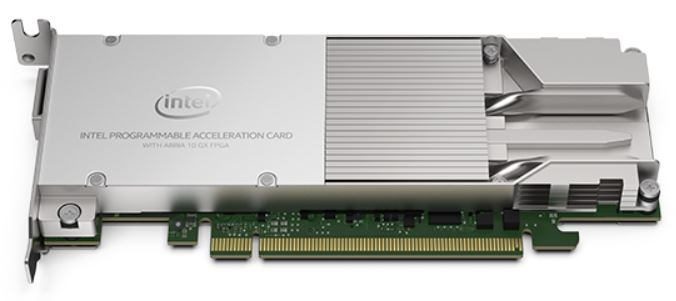 Intel Arria 10 GX FPGA Card For Servers Angle