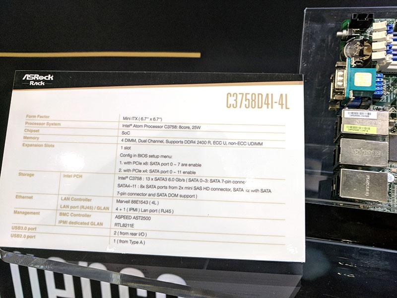 ASRock Rack C3758D4I 4L Spec