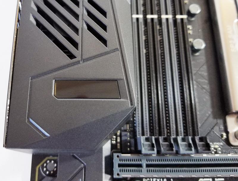 ASUS X399 Zenith Extreme LiveDash