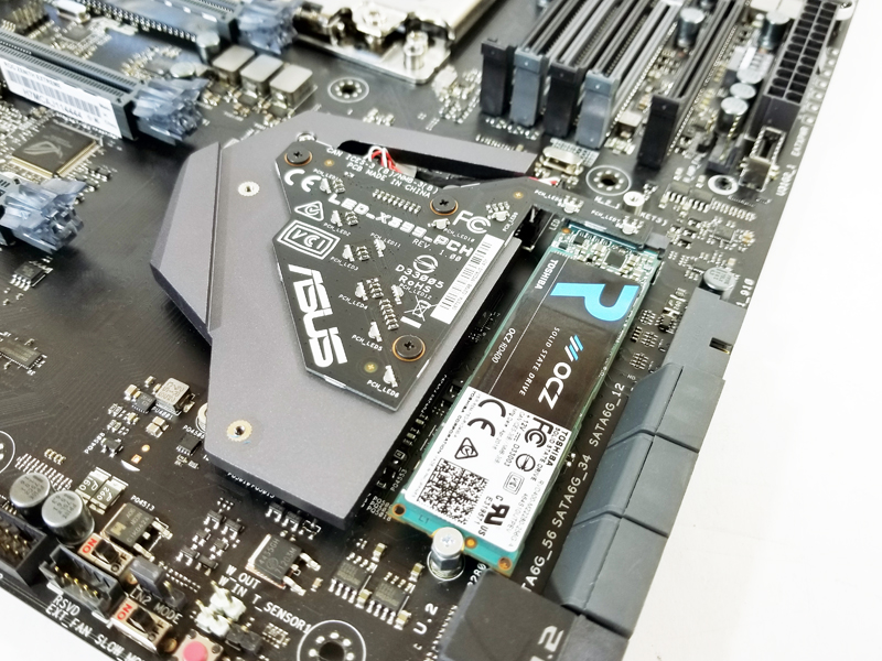ASUS X399 Zenith Extreme M2 Installed
