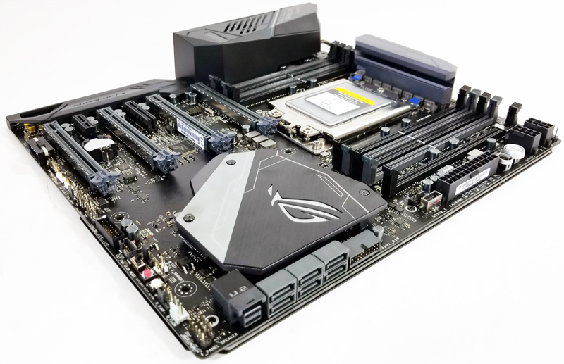 ASUS X399 Zenith Extreme Quarter View