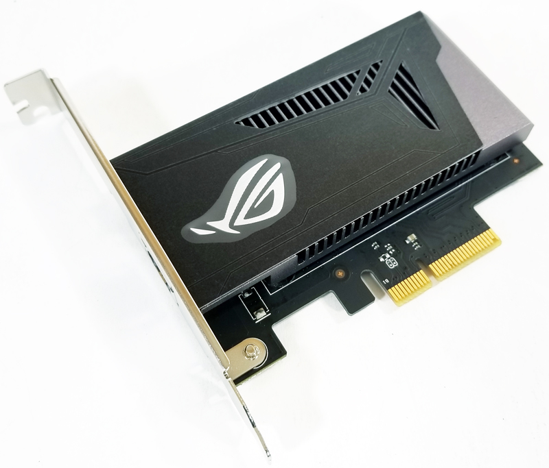 ASUS X399 Zenith Extreme ROG Areion 10G Card