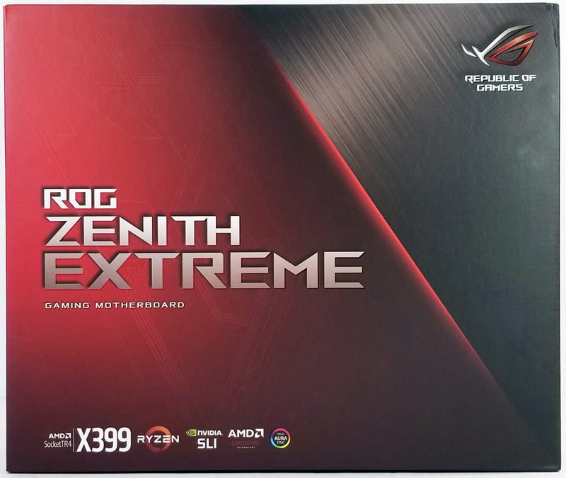 ASUS X399 Zenith Extreme Retail Box Front
