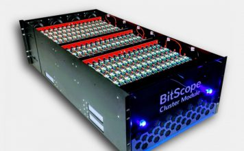 BitScope Cluster Module Three Quarter
