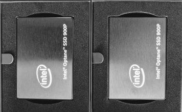 Intel Optane 900p 280GB Side By Side Packaging