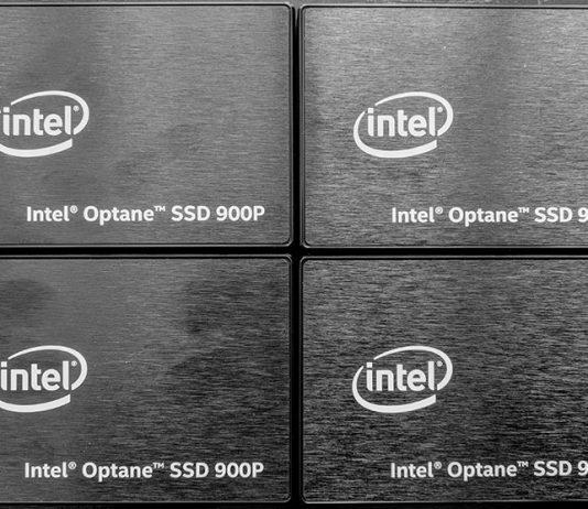 Intel Optane 900p Four Drives