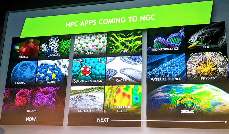 NVIDIA HPC Applications Coming To NGC