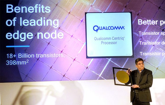 Qualcomm Centriq 2400 Anand With Wafer