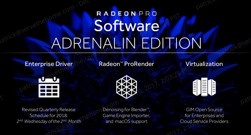AMD Open Sourcing GIM KVM Driver and the Radeon Pro