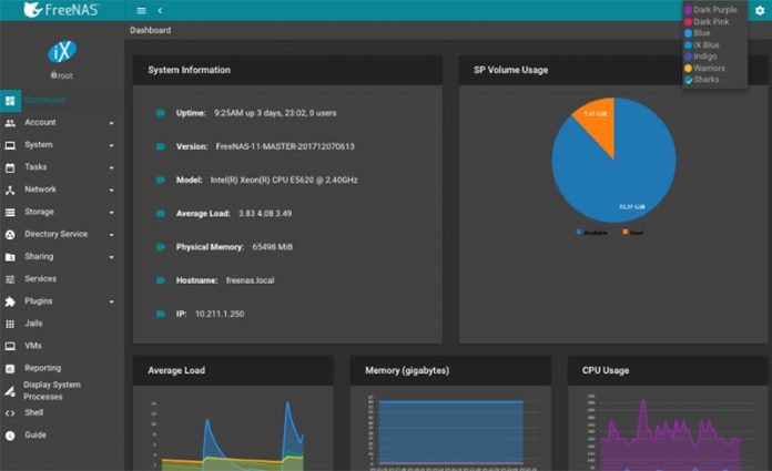 FreeNAS 11 1 Brings Better Hardware Support and Docker