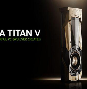 NVIDIA TITAN V Title