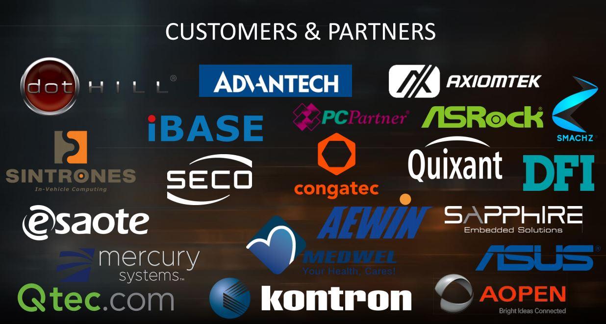 AMD EPYC And Ryzen Embedded V1000 Systems Partners