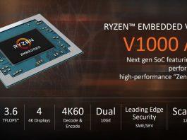 AMD Ryzen Embedded V1000 Series Overview