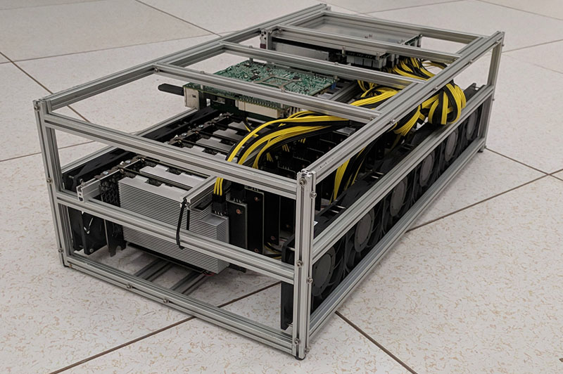 Ethereal Capital 16x GPU P106-100-X16 Professional Mining Rig Review