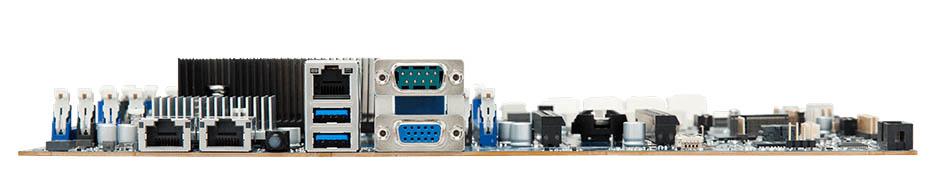 Gigabyte MB51 PS0 Rear IO