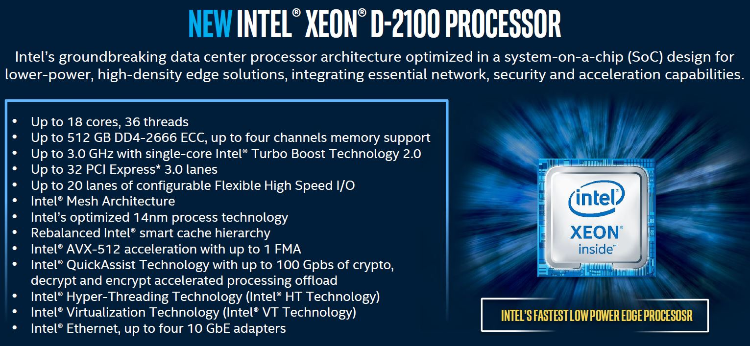 Intel Xeon D 2100 Architecture Highlights Update1