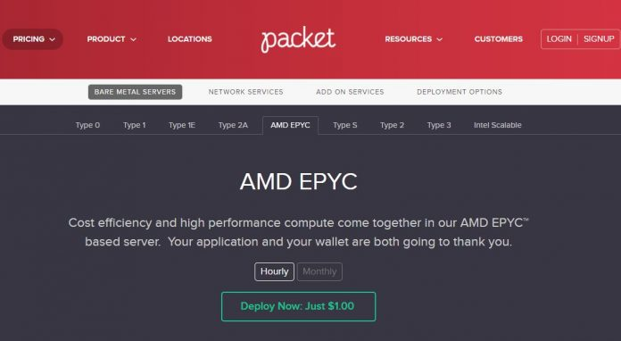 Packet EPYC Cover