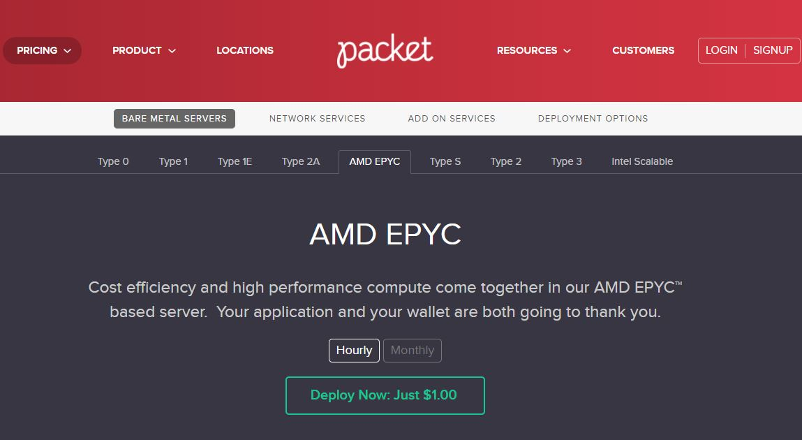 Packet EPYC