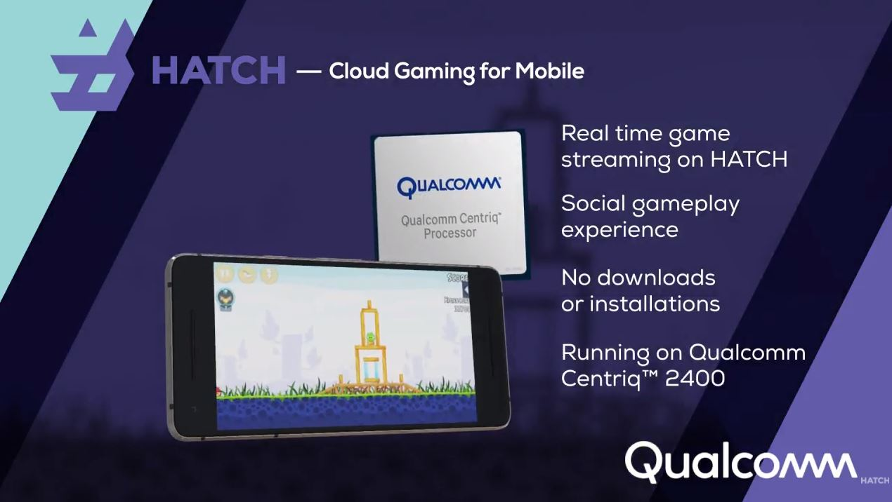 Qualcomm Hatch Centriq 2400 Mobile