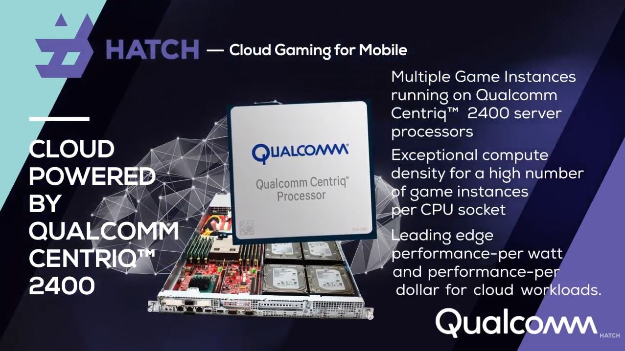 Qualcomm Hatch Centriq 2400