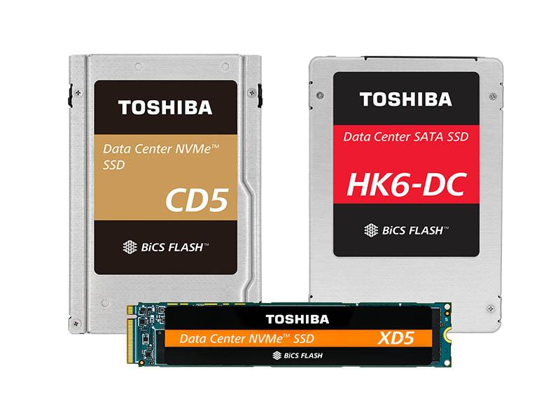 3 New Toshiba Data Center SSDs OCP 2018