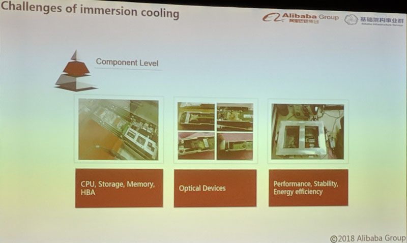 Alibaba Immersion Cooling Component Level Challenges