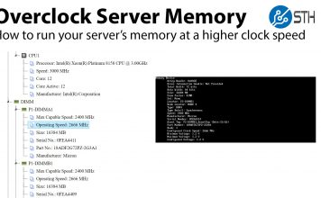 How To Overclock Server Memory
