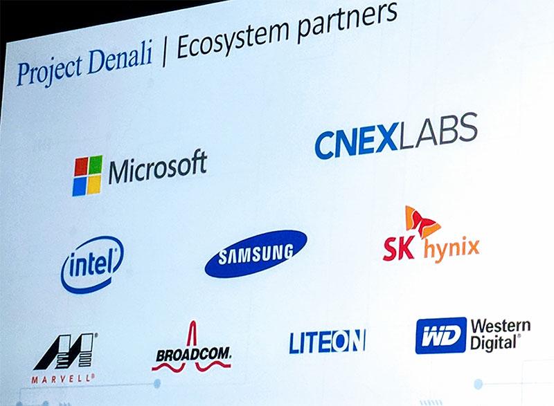 Microsoft Project Denali Ecosystem Partners