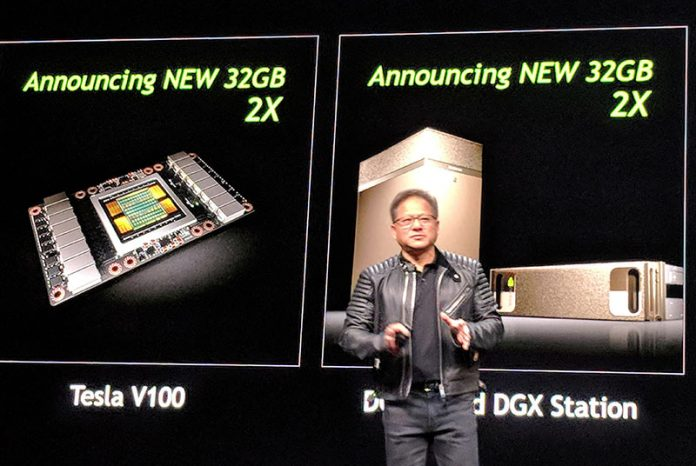 NVIDIA Tesla V100 32GB And DGX Upgrades