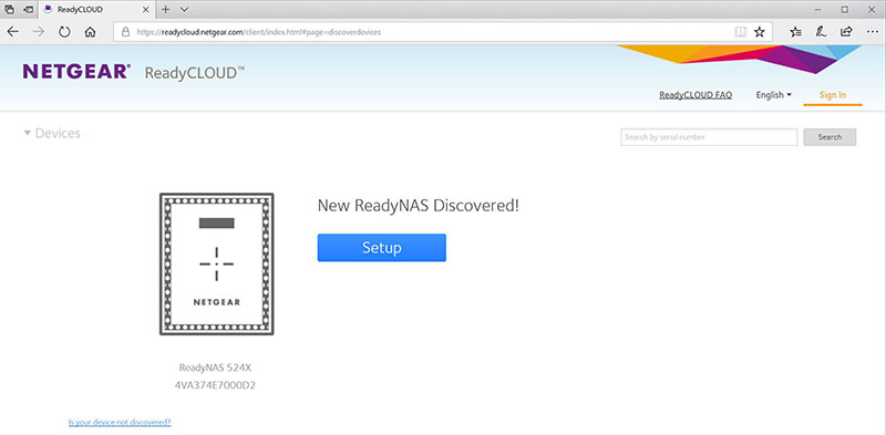Netgear ReadyNAS RN524X Premium SMB 4-Bay NAS with 10GbE