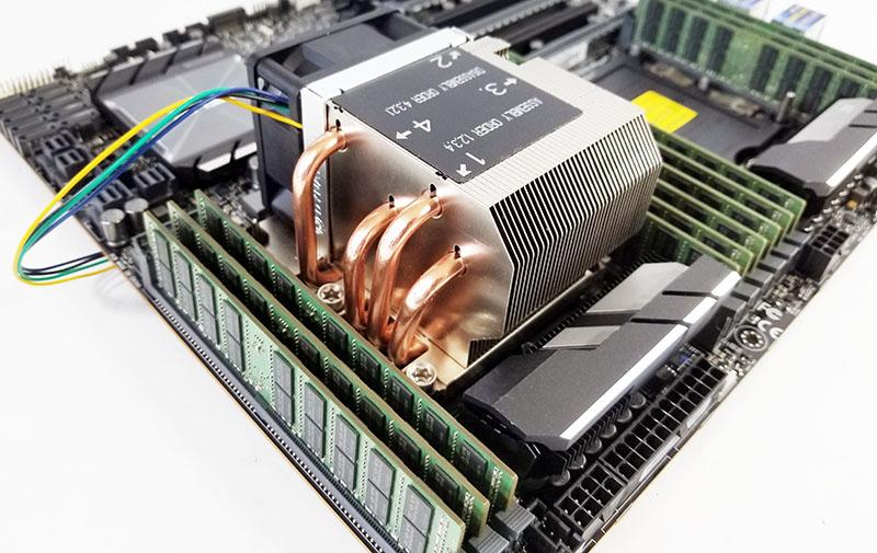 Socket LGA 3647 Square Installed