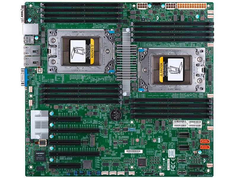 Supermicro H11DSi-NT Dual AMD EPYC Motherboard Review