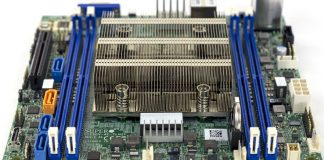 Supermicro X11SDV 4C TLN2F CPU Heatsink Airflow And DIMMs