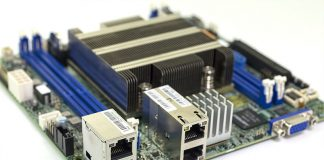 Supermicro X11SDV 4C TLN2F Three Quarter