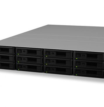 Synology RS3618xs Front Three Quarter