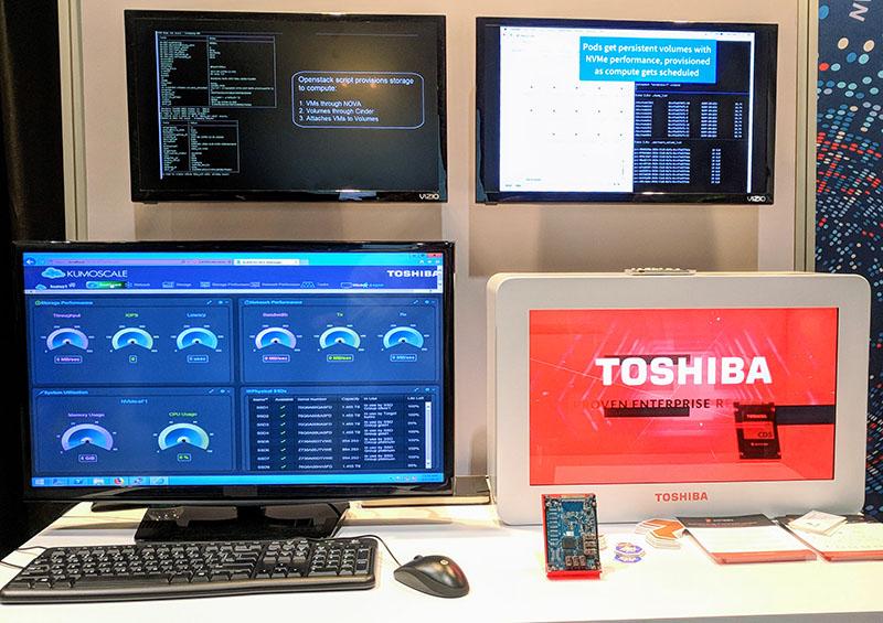 Toshiba KumoScale And Portworx Backed Kubernetes