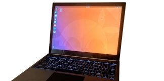 Ubuntu 18.04 Bionic Beaver Running On Chromebook Pixel Laptop