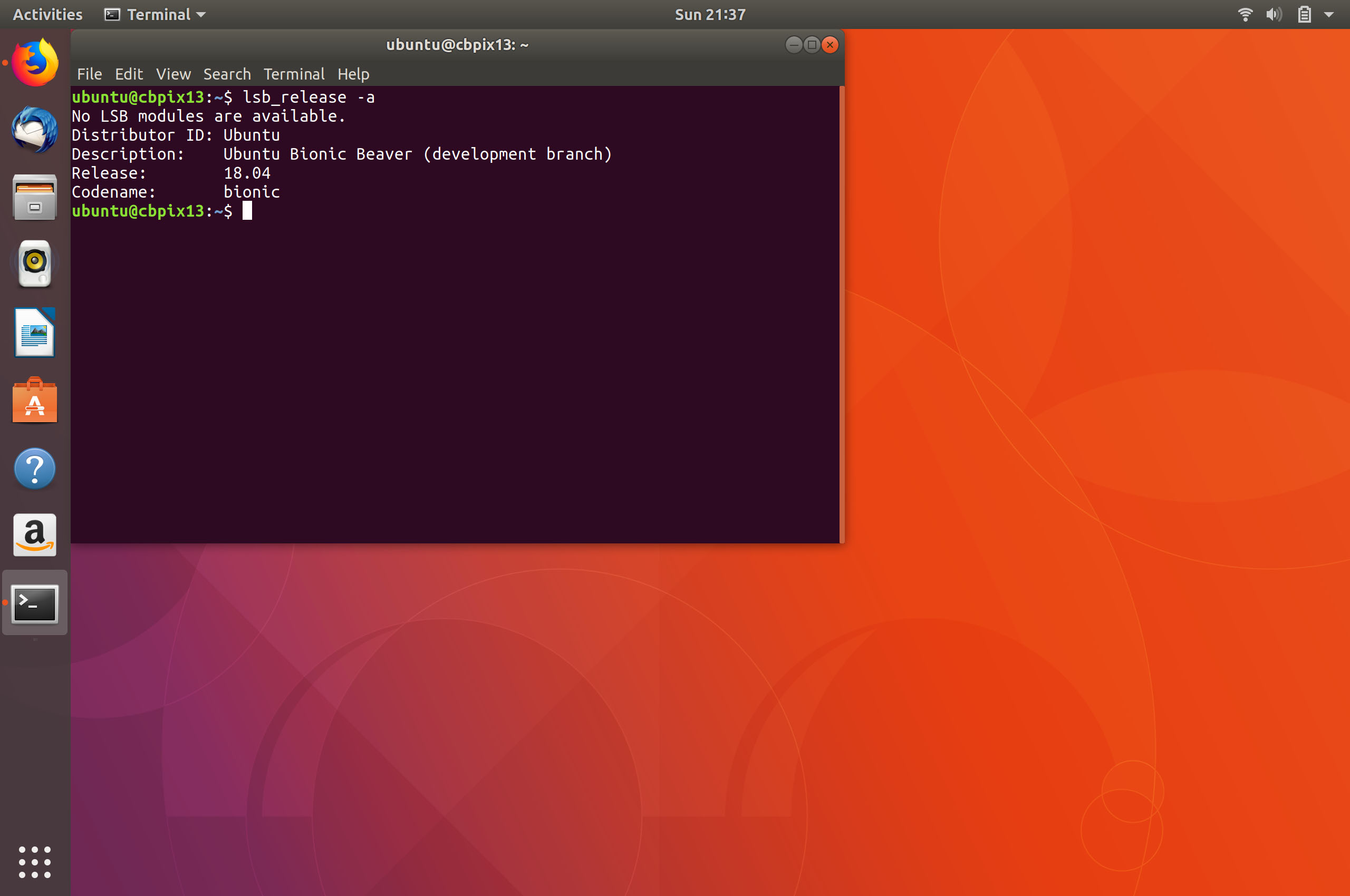 Google Chromebook Pixel Running Ubuntu 18 04 Bionic Beaver