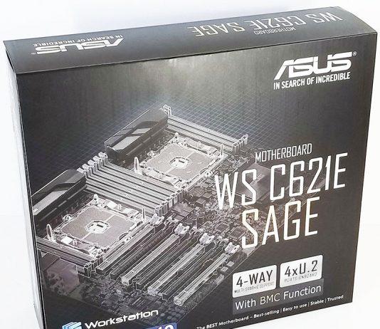 ASUS WS C621E SAGE Box Display