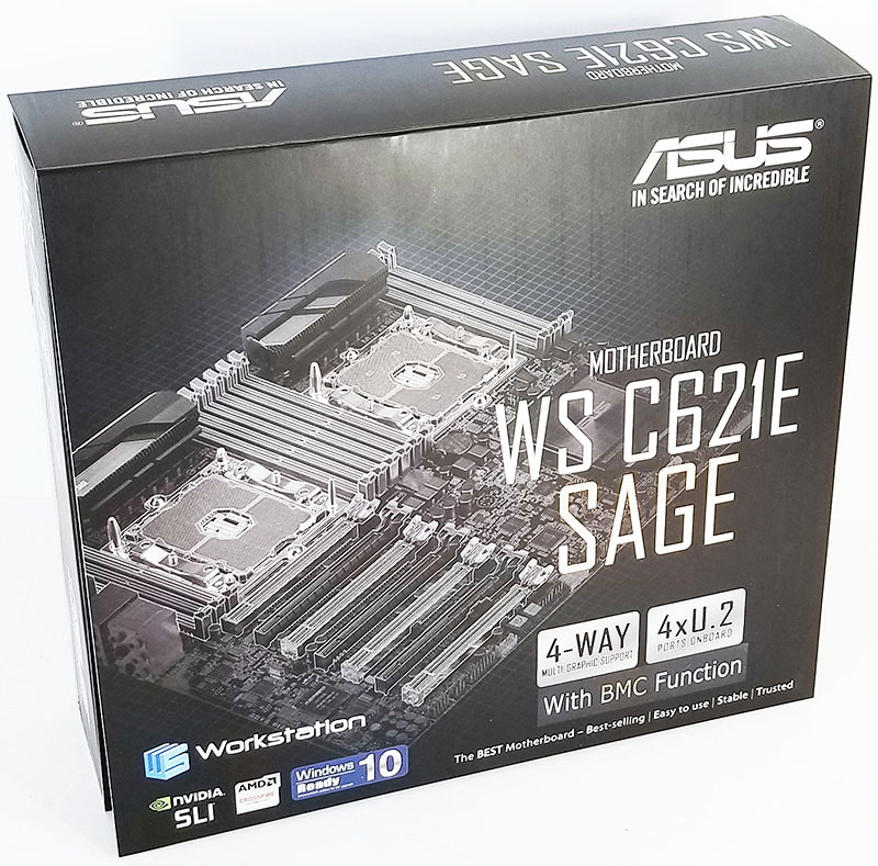 ASUS WS C621E SAGE Motherboard The Search for Incredible is Over