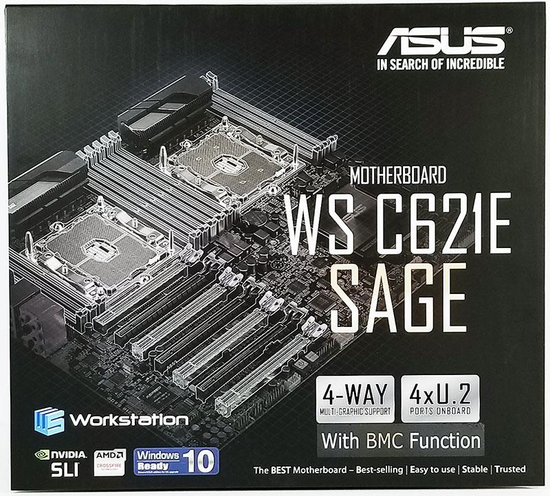 ASUS WS C621E SAGE Box Front