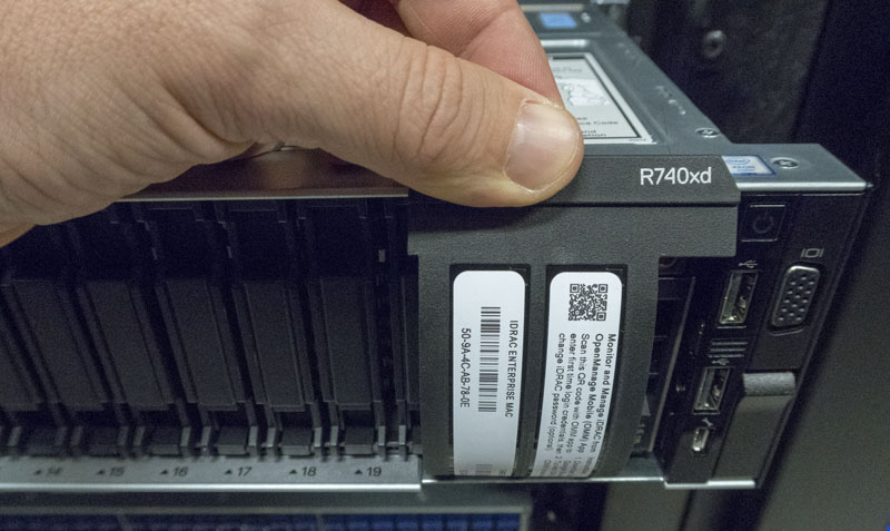 Dell EMC PowerEdge R740xd IDRAC OMM Info