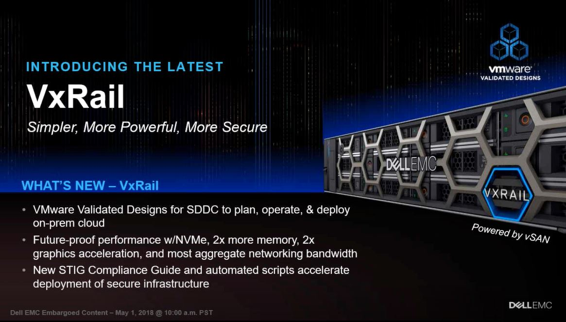 Dell EMC VxRail Update